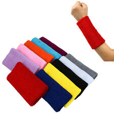New Sports Sweat Band Sweatband Wristband Arm Band Basketball Tennis Gym Yoga
