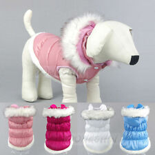 Hot Puppy Pet Warm Hooded Coat Dog Winter Padded Coat Clothing Jacket XS-XXL