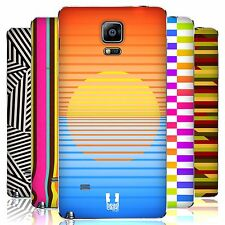 HEAD CASE DESIGNS DYNAMIC STRIPES REPLACEMENT BATTERY COVER FOR SAMSUNG PHONES 1