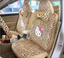 2016 NEW Cute 18 PCs Hello Kitty Universal  Polka Dot Car Seat Covers