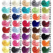 Soft Solid Ladies Women Vintage Scarf Wrap Shawl muffle neckerchief Multicolors
