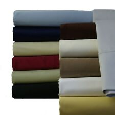 Queen-Size Attached Waterbed Solid 100-Percent cotton 300 Thread Count