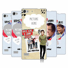 CUSTOM PERSONALISED ONE DIRECTION 1D I SHIP US HARD CASE FOR LENOVO PHONES