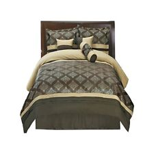 Thomasville Bed in a Bag Bedding Set (11-PIECE, Coffee)