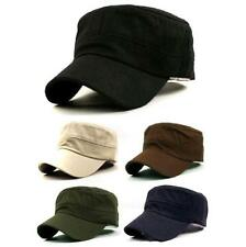 Vogue Adjustable Plain Unisex Military Army Cap Castro Cadet Patrol Cap Hat - 6A
