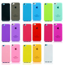 TPU Matte Slim Silicone Soft Case Scratch / Dirt Resistant Cover FOR iPhone 5C