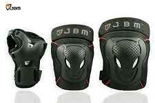 JBM Snowboard Ski Protective Gear Knee Elbow Wrist Support Guard Pad Wrap Brace