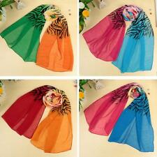 Fashion Women Long Chiffon Scarf Wrap Shawl Stole Scarves Stole Hot Pretty 4T7M