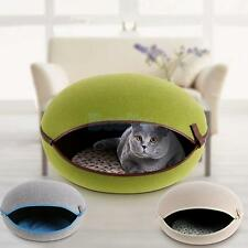 Pet Dog Cat Egg Shaped House Cushion Dog Bed Kennel Detachable Pick Colors