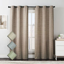 Blue Manor Printed Grommet Blackout Window Top Curtain (Set of 2 Panels)