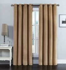 Taupe Velvet Grommet Pair Panels (Set of 2 Panels)