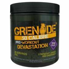 Grenade 50 Calibre 232g / 580g All Flavours Pre Workout for increased energy