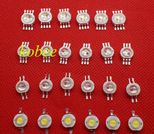 1W 3W 4W CW RGB RGBW high power led bead Lamp light emitter 5 10 20 50 100PCS