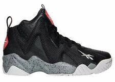 REEBOK KAMIKAZE II MID RETRO BLACK - DARK SOLID GREY MEN'S BASKETBALL SHOES