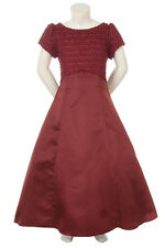 New Girl Graduation Pageant Wedding Party Dress Sage Burgundy Coral Lilac Ivory