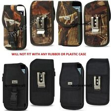 Industrial Grade Case With Metal Belt Clip Cover Holster Pouch For Large Phones
