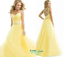 Sexy Long Chiffon Evening dress Formal Party Prom Bridesmaid Dress Ball Gowns