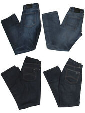 Armani Exchange A/X Mens Straight Low Rise Vintage Washed Denim Jeans Pants New