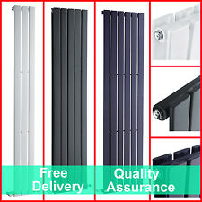 Vertical Upright Flat Panel Bathroom Central Heating Designer Radiator Warmer