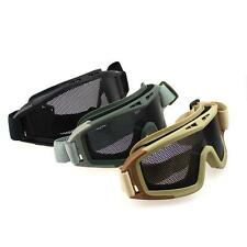 Tactical Airsoft Cycling Paintball Climbing SWAT Wire Mesh Lens Goggles Eyewear