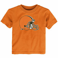 Cleveland Browns Toddler Team Logo T-Shirt - Orange - NFL