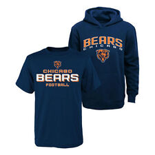 Chicago Bears Youth T-Shirt & Hoodie Set - Navy/Navy - NFL