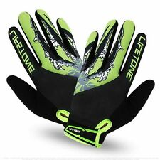 2016 Full Finger Cycling Gloves Mountain Bike Bicycle Sports Gloves Top GEL Pad