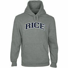 Rice Owls Arch Name Pullover Hoodie - Gunmetal - College