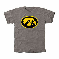 Iowa Hawkeyes Classic Primary Tri-Blend T-Shirt - Gray - College