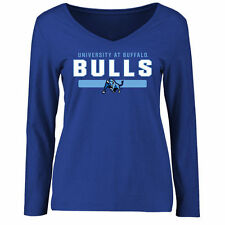 Buffalo Bulls Women's Team Strong Long Sleeve Slim Fit T-Shirt - Royal - NCAA