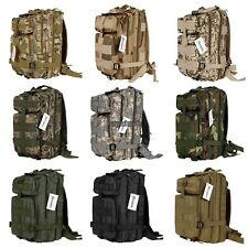"3P Tactical Military  Backpack Camouflage Camping Hiking Rucksack Bag 16.8"" RLWH"