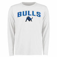 Men's White Buffalo Bulls Proud Mascot Long Sleeve T-Shirt - College