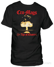 Cro Mags - The Age of Quarrel T-Shirt Black Shirt Tee New