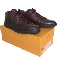 Tod's TODs men's leather sneakers casual high lace-up shoes Schuhe ботинки $390