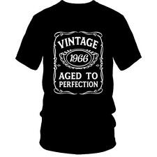 50th Birthday VINTAGE AGED TO PERFECTION T-Shirt 1966 BDay 50 Years Old Gift Ide