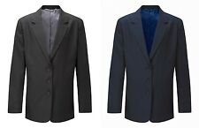 Blue Max Ladies Designer Zip Entry Blazers Womens 3 Buttoned Polyester Jackets