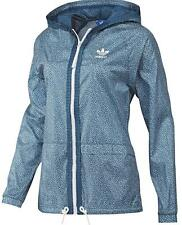 Adidas Womens Equestrian AO Windbreaker Tri Blue/Run White Size UK 8,10,12,14