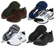 NEW BALANCE Men's Leather Sneakers Cross Training Shoes, Med, Wide, XWide 4E