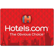 $50 / $100 Hotels.com Gift Card - FREE Mail Delivery