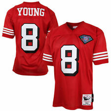 Mens San Francisco 49ers Steve Young Mitchell & Ness Authentic Throwback Jersey