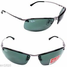 SUNGLASSES 100%UV RB3183-0 RAY BAN METAL UNISEX LIFESTYLE 7 COLORS FROM ITALY