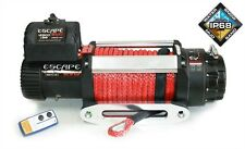 Winch Escape Evo IP68 12500 lbs (5670 kg), Synthetic rope 28m, Recovery