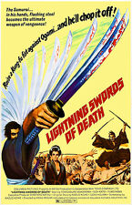 Lightning Swords of Death - 1972 - Movie Poster
