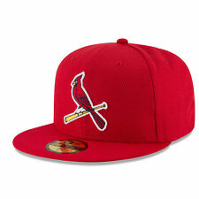 Men's New Era Red St. Louis Cardinals Game Diamond Era 59FIFTY Fitted Hat - MLB