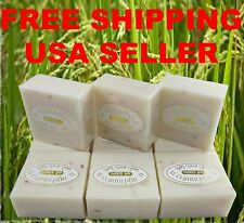 K Brothers Jasmine Rice Milk Soap Thailand Bath & Body Reduce Acne Blemishes