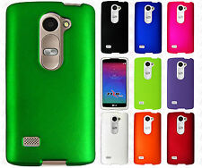 For LG Power L22C Rubberized HARD Protector Case Snap On Phone Cover Accessory