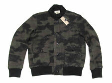 $298 Polo Ralph Lauren Denim & Supply Mens Camo Camouflage Wool Bomber Jacket