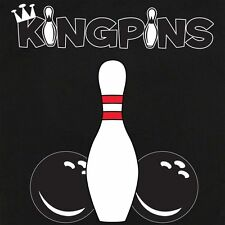 Button Up Rockaway 2248 Bowling Shirt With Kingpins on Back