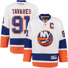 New York Islanders John Tavares Reebok Premier Player Jersey - White - NHL