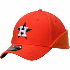 Houston Astros New Era Downflap 39THIRTY Flex Hat - Orange - MLB